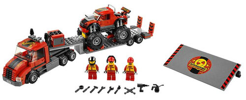Lego Monster Truck Transporter #3