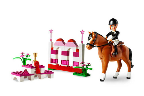 Lego Horse Jumping #2