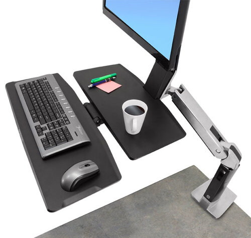 Ergotron WorkFit WorkFit-A, Single LD @ Worksurface+ #5