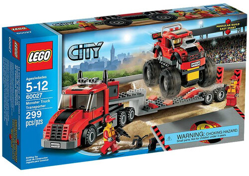 Lego Monster Truck Transporter #2