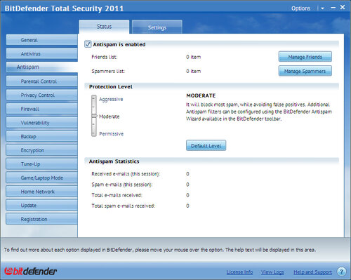 Softwin Total Security 2011 #2