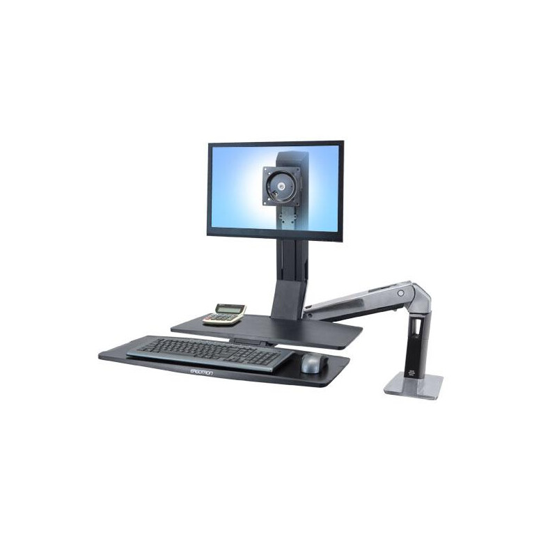 Ergotron WorkFit WorkFit-A, Single LD @ Worksurface+ #1