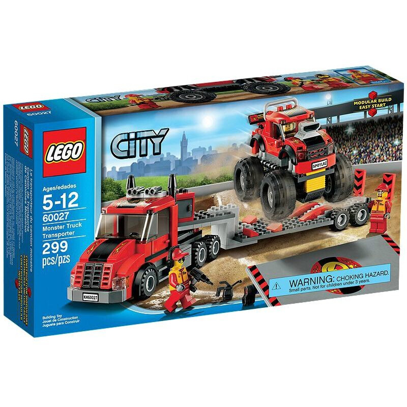 Lego Monster Truck Transporter #1