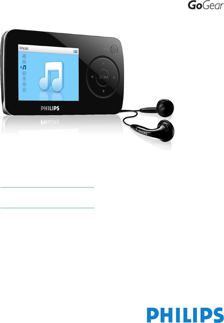 Driver for Philips SA6045/85 MP4 Player