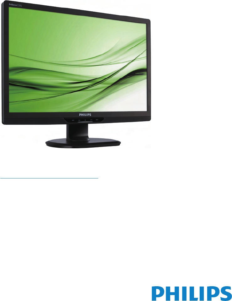 Philips 220S2SS/00 Monitor Drivers Download Free